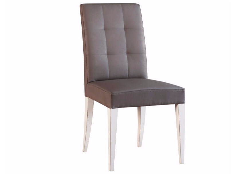 Tufted upholstered fabric chair ELIZA | Chair - SELVA