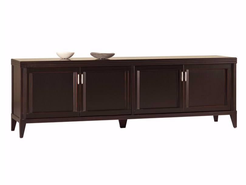 Wooden sideboard with doors ELIZA | Sideboard - SELVA