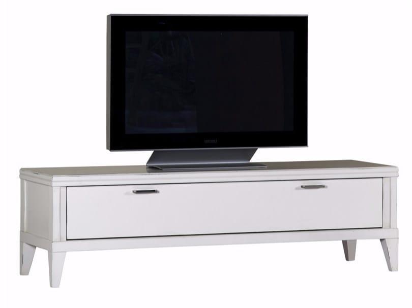 Low wooden TV cabinet ELIZA | TV cabinet - SELVA