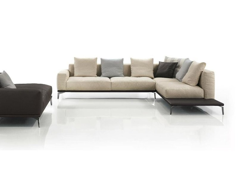 Corner fabric sofa ELLE | Corner sofa by Papadatos