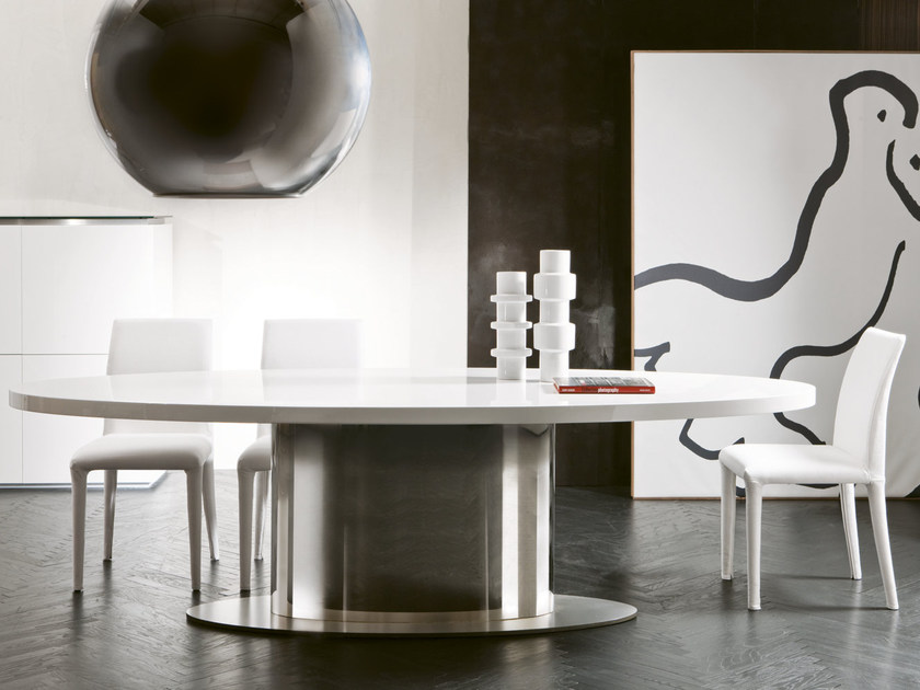 Oval dining table ELLYS - Pacini & Cappellini