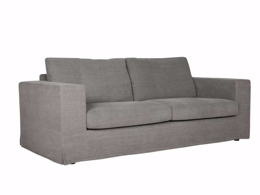 Upholstered 3 seater fabric sofa ELSIE - SITS