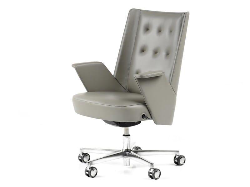 Swivel medium back executive chair EMBRACE | Medium back executive chair by ESTEL GROUP