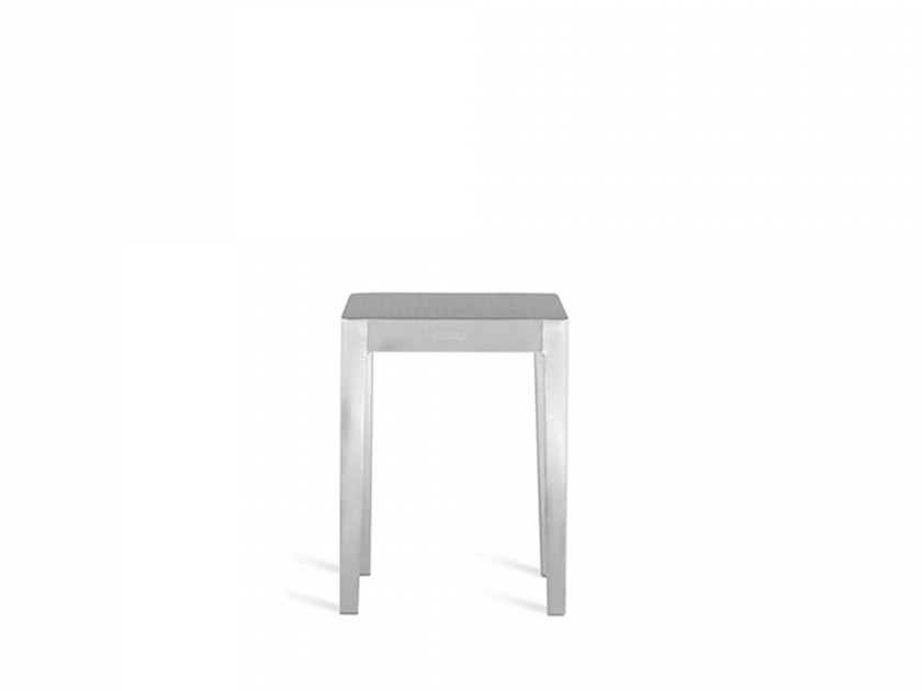 Low aluminium coffee table EMECO | Low coffee table by Emeco