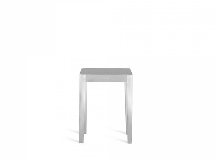 Low aluminium coffee table EMECO | Low coffee table - Emeco