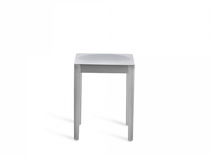 Aluminium barstool EMECO | Low stool - Emeco