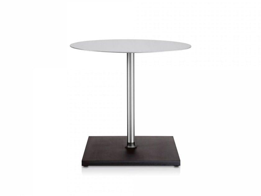 Round aluminium table EMECO | Round table - Emeco