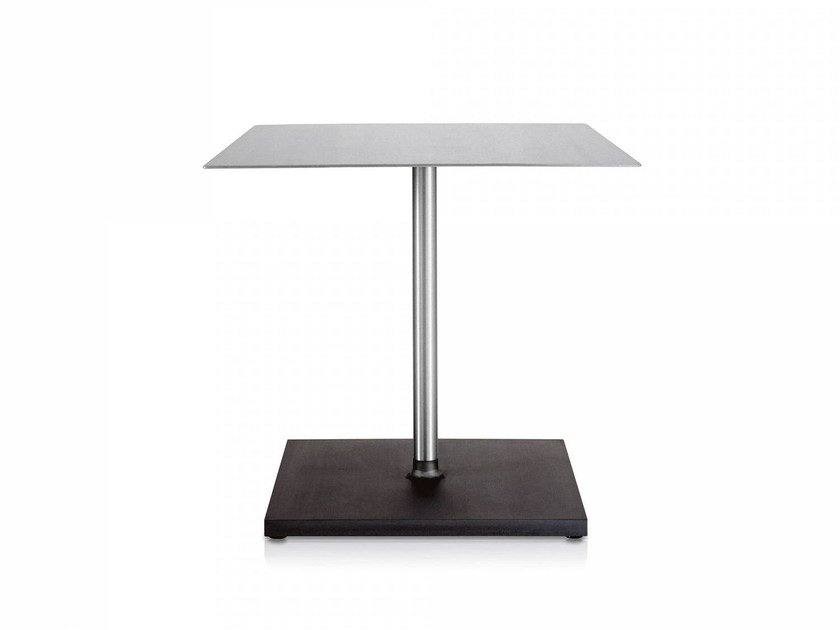 Square aluminium table EMECO | Square table - Emeco
