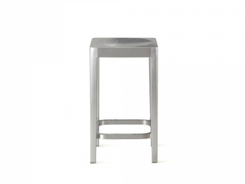Sgabello da bar in alluminio EMECO | Sgabello - Emeco