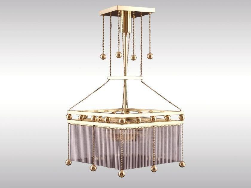 Classic style pendant lamp EMIL-2 - Woka Lamps Vienna