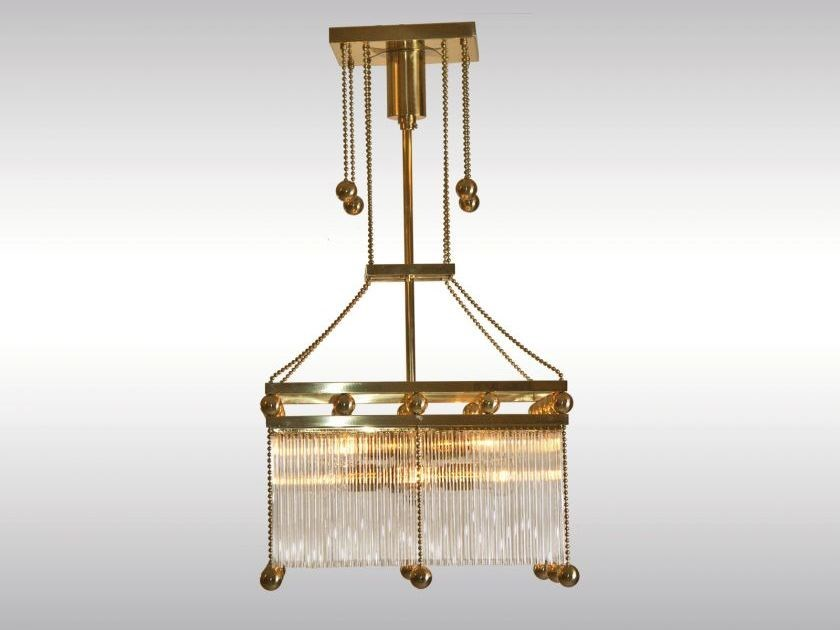 Classic style pendant lamp EMIL - Woka Lamps Vienna