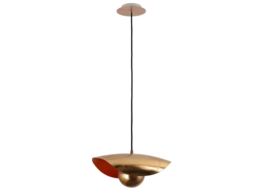 Indirect light metal pendant lamp EMOTION COPPER - Hind Rabii