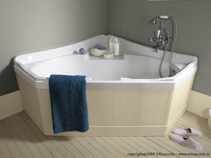Vasca Da Bagno English : Vasche da bagno collezione com vasca da bagno angolare vaio duo