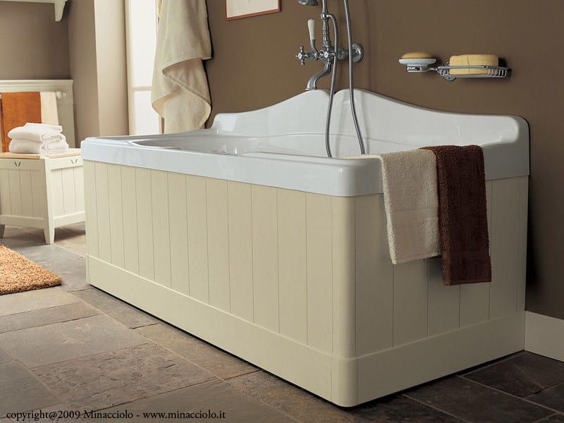 Rectangular bathtub ENGLISH MOOD | Rectangular bathtub - Minacciolo