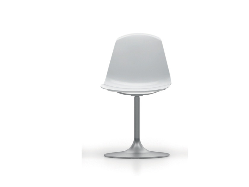 Sedia girevole in polipropilene EPOCA | Sedia girevole - Luxy