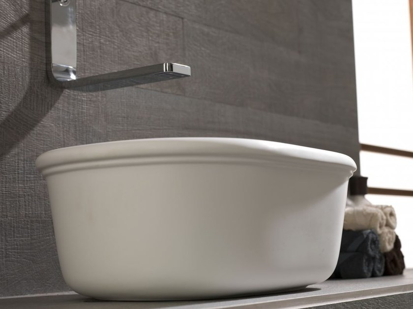Countertop single washbasin EPOQUE | Single washbasin by Systempool