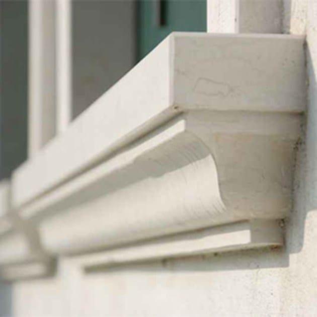 Davanzali finestre in resina trattamento marmo cucina - Soglie in marmo per finestre ...