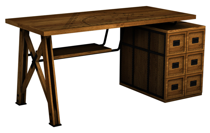 Wooden secretary desk EPURE by ROCHE BOBOIS