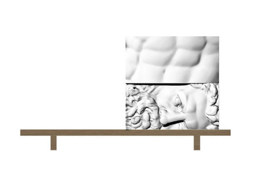 Sectional chest of drawers ERCOLE E AFRODITE 4 - Driade