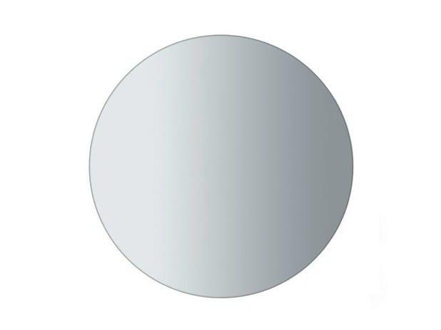 Round wall-mounted bathroom mirror ERGO Ø 100 | Mirror - GALASSIA