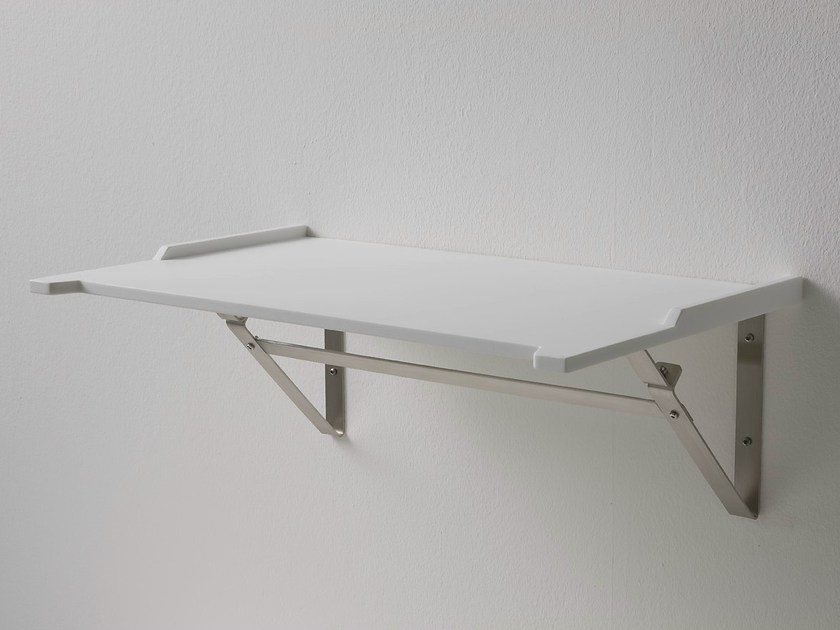 Corian® bathroom wall shelf ERGO-NOMIC | Bathroom wall shelf - Rexa Design