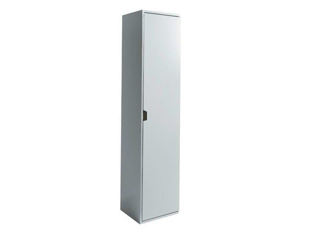 Tall MDF bathroom cabinet ERGO | Tall bathroom cabinet - GALASSIA