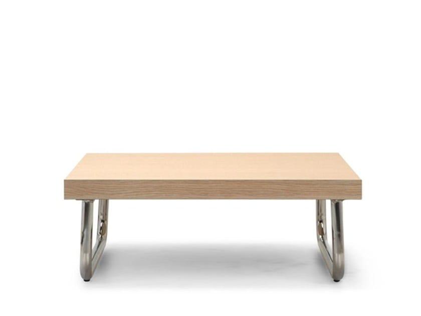 Low wooden coffee table ERIC | Coffee table - Domingo Salotti