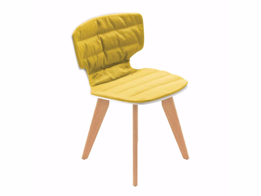 Upholstered fabric chair ERICE PAD SOFT - 51Z | Upholstered chair - Alias