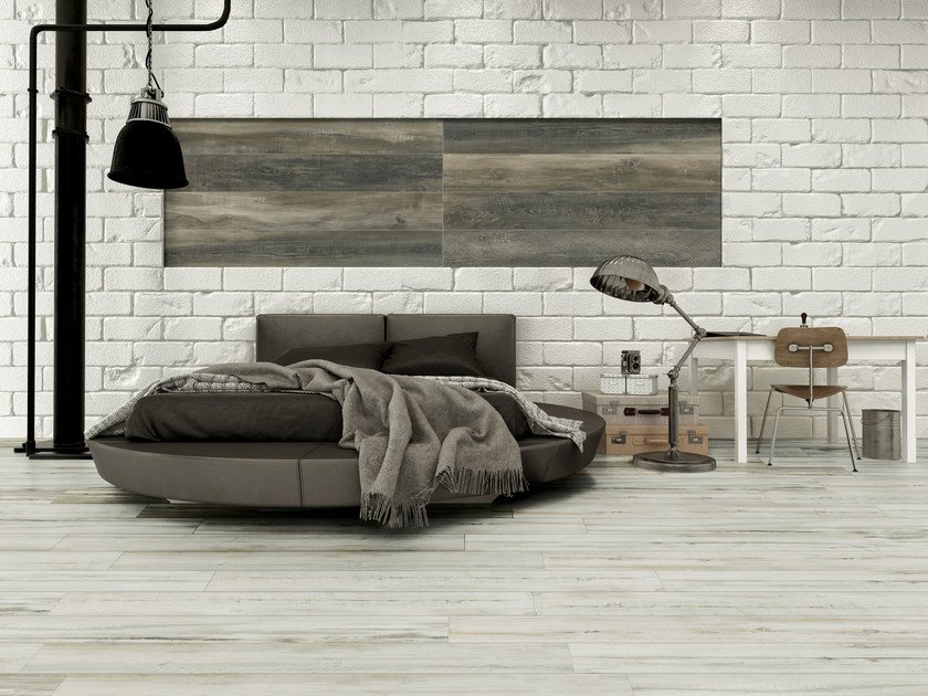 Indoor/outdoor porcelain stoneware flooring with wood effect ESSENZE - SICHENIA GRUPPO CERAMICHE