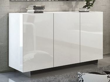 Lacquered sideboard with doors ESSENZIA | Sideboard with doors by RIFLESSI