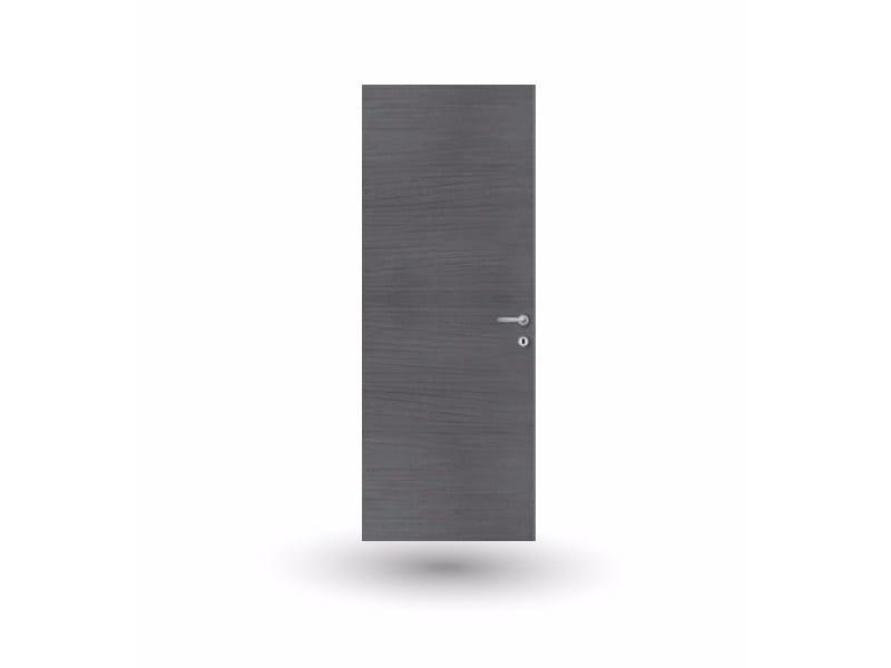Hinged flush-fitting wooden door ETEREA 13E LAPIS ANTRACITE - GD DORIGO