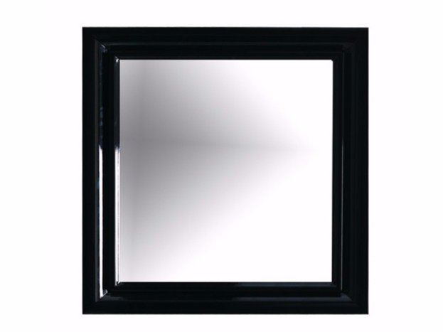 Wall-mounted framed bathroom mirror ETHOS 90 | Mirror - GALASSIA