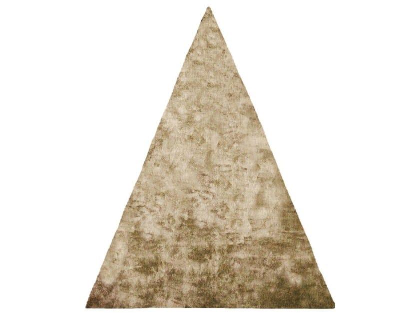 Handmade rug ETHYLENE OXIDE GOLD CHLORIDE EDIT - HENZEL STUDIO