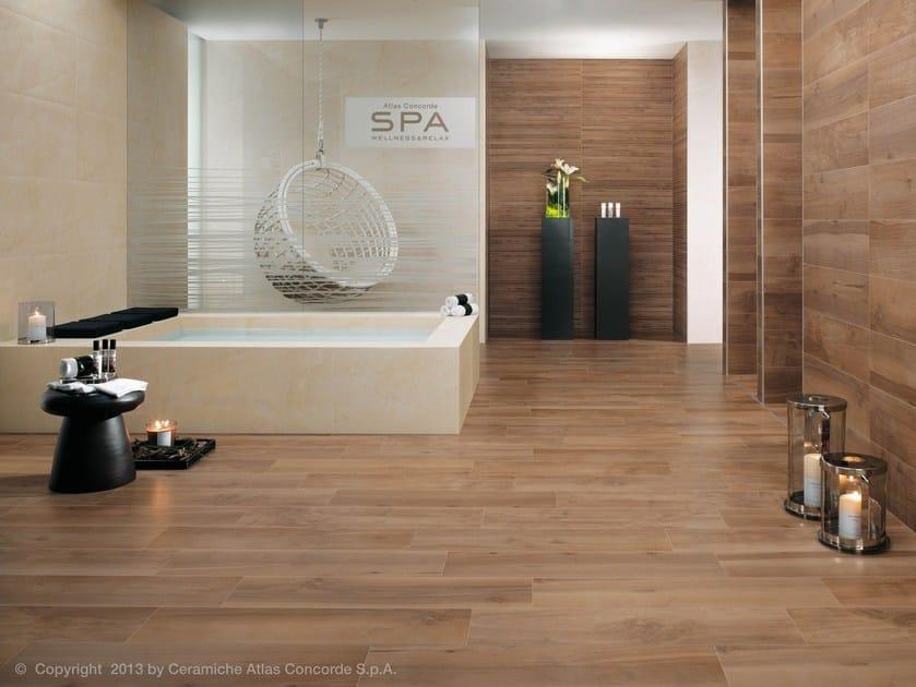 Rivestimento in gres porcellanato effetto legno per - Gres porcellanato effetto legno per bagno ...