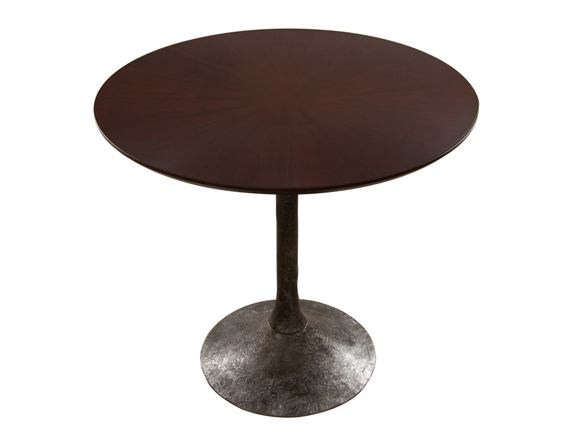 Round wooden table ETNA | Wooden table by Hamilton Conte Paris