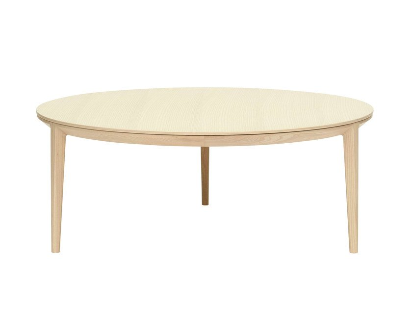 Round wooden coffee table ETOILE | Wooden coffee table - SP01