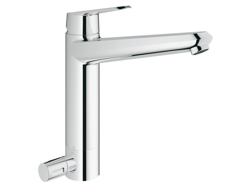 Countertop 1 hole kitchen mixer tap with swivel spout EURODISC COSMOPOLITAN | Kitchen mixer tap with dishwasher connection by Grohe