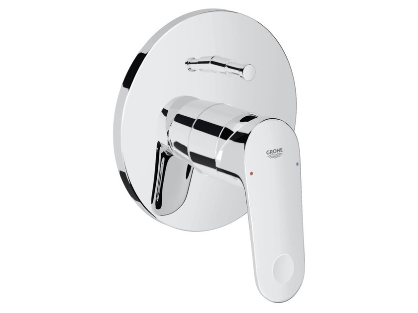 Wall-mounted single handle bathtub/shower mixer EUROPLUS C | Bathtub mixer by Grohe