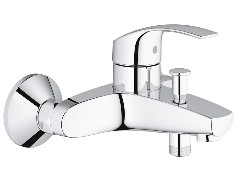 2 hole single handle bathtub mixer with diverter EUROSMART | Bathtub mixer by Grohe