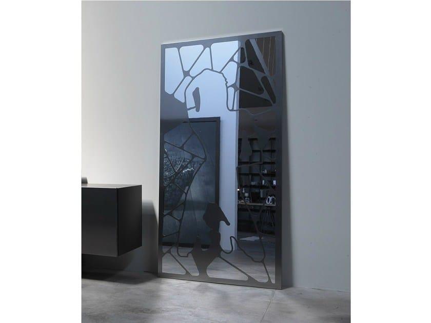 Rectangular wall-mounted mirror EVA - Ronda Design