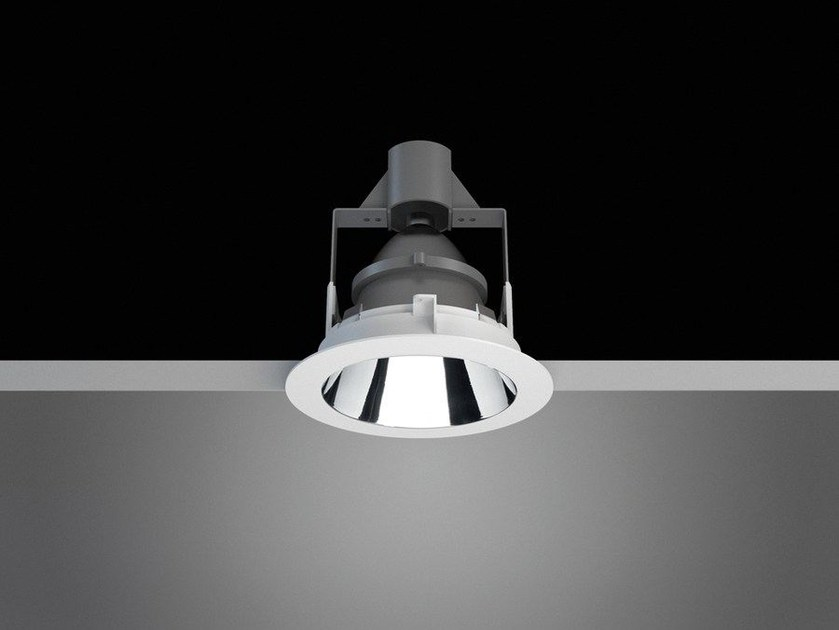 LED round aluminium spotlight EVERYTHING | Round spotlight by Artemide