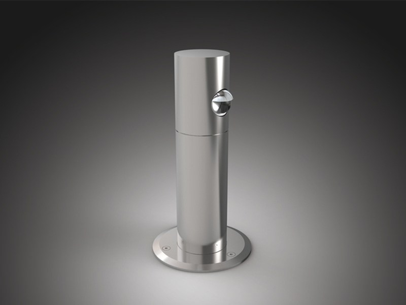 LED Garden bollard light Evo - PURALUCE