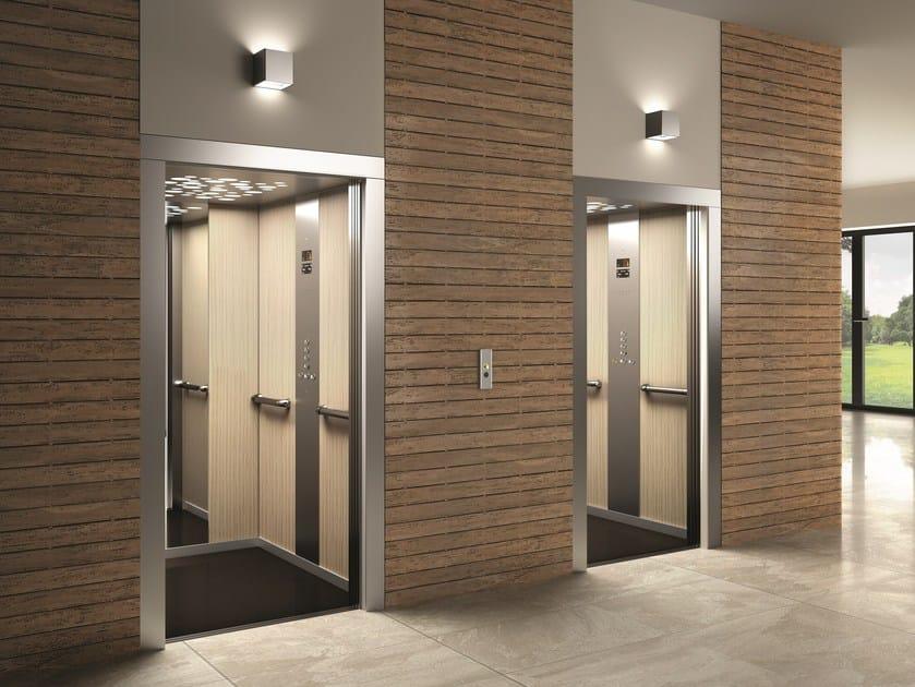 ascensore senza locale macchina ceam