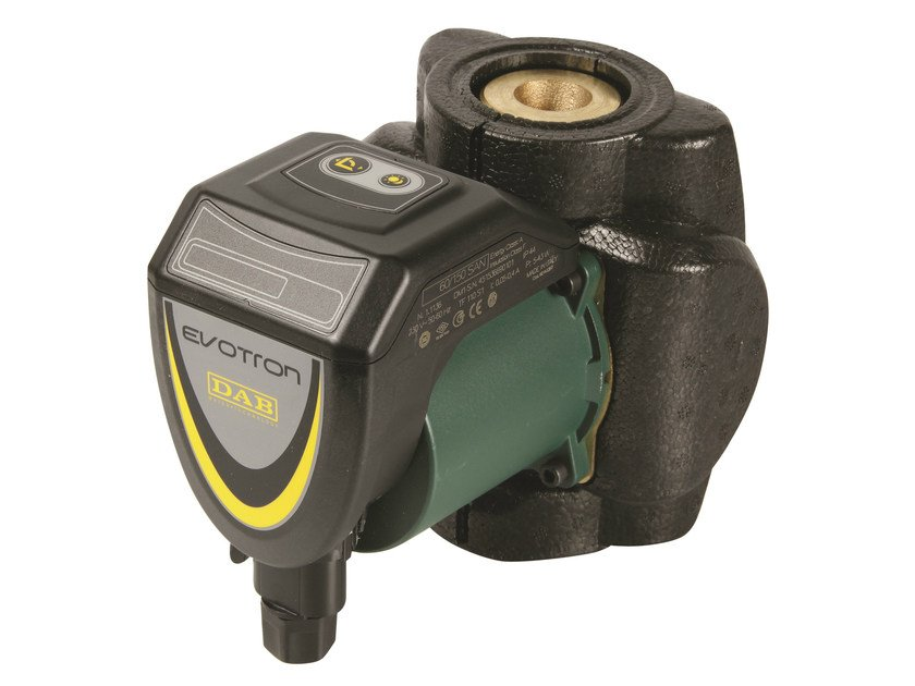 Wet rotor electronic circulators EVOTRON SAN by Dab Pumps
