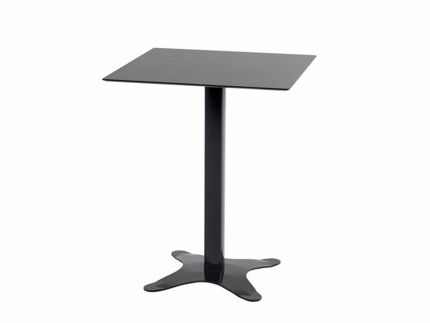 Folding square table EX 517 - Metalmobil
