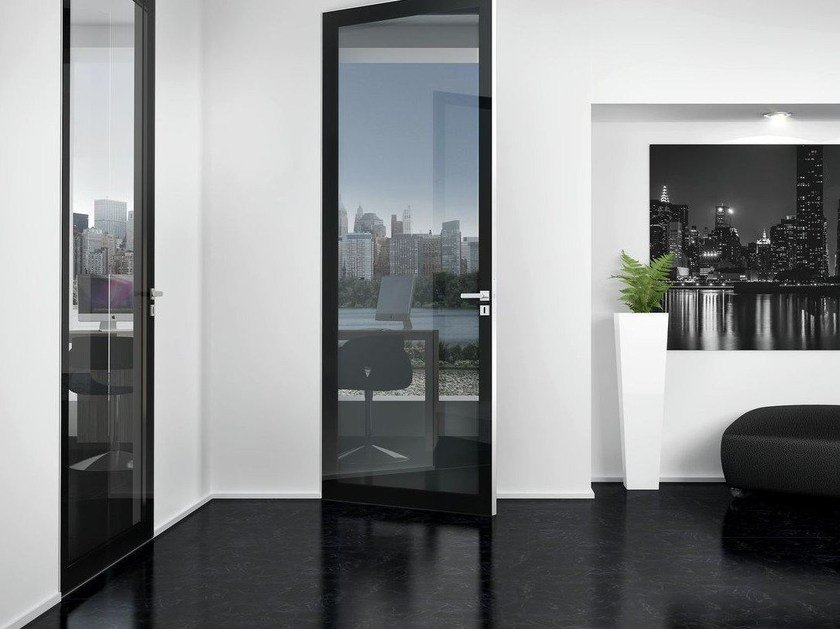 Hinged glass door EXCLUSIVE 100 | Glass door - Interno Doors