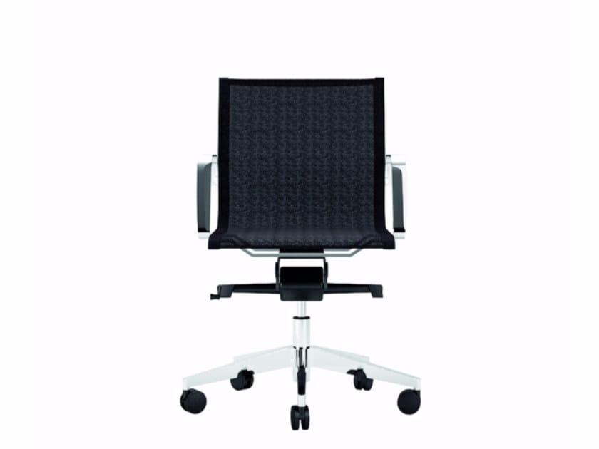 Low back executive chair DIVA | Executive chair - Quadrifoglio Sistemi d'Arredo