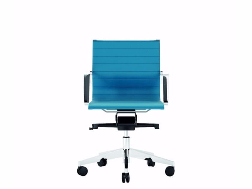 Low back executive chair DIVA SOFT | Executive chair - Quadrifoglio Sistemi d'Arredo