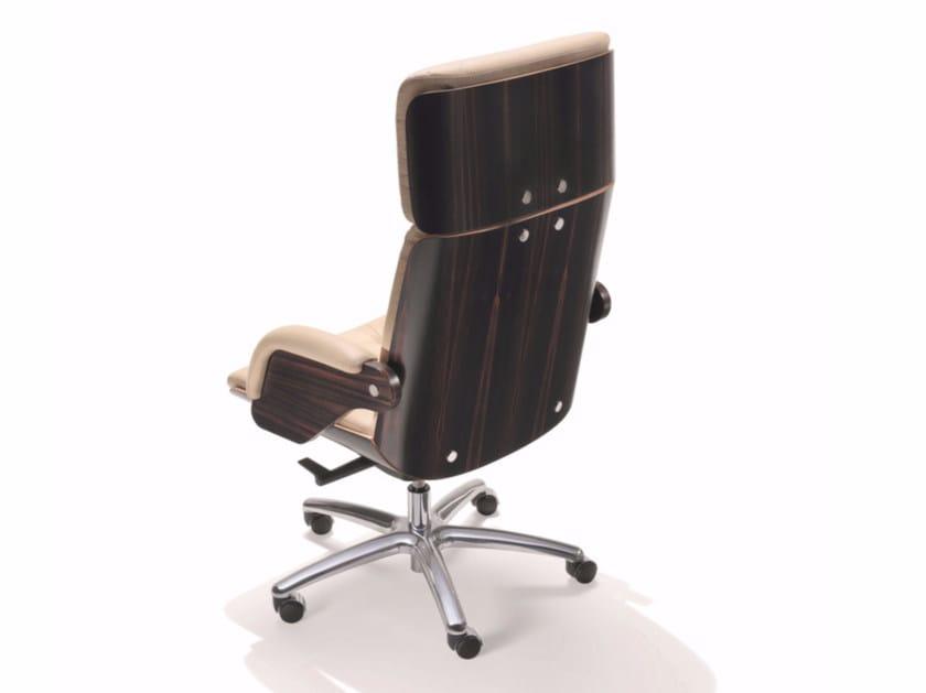 Swivel high-back leather executive chair NESI | Executive chair by ARTOM by Ultom