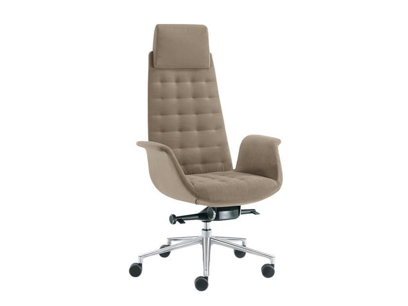 Executive chair with headrest MODÀ STYLE | Executive chair with headrest - Sesta